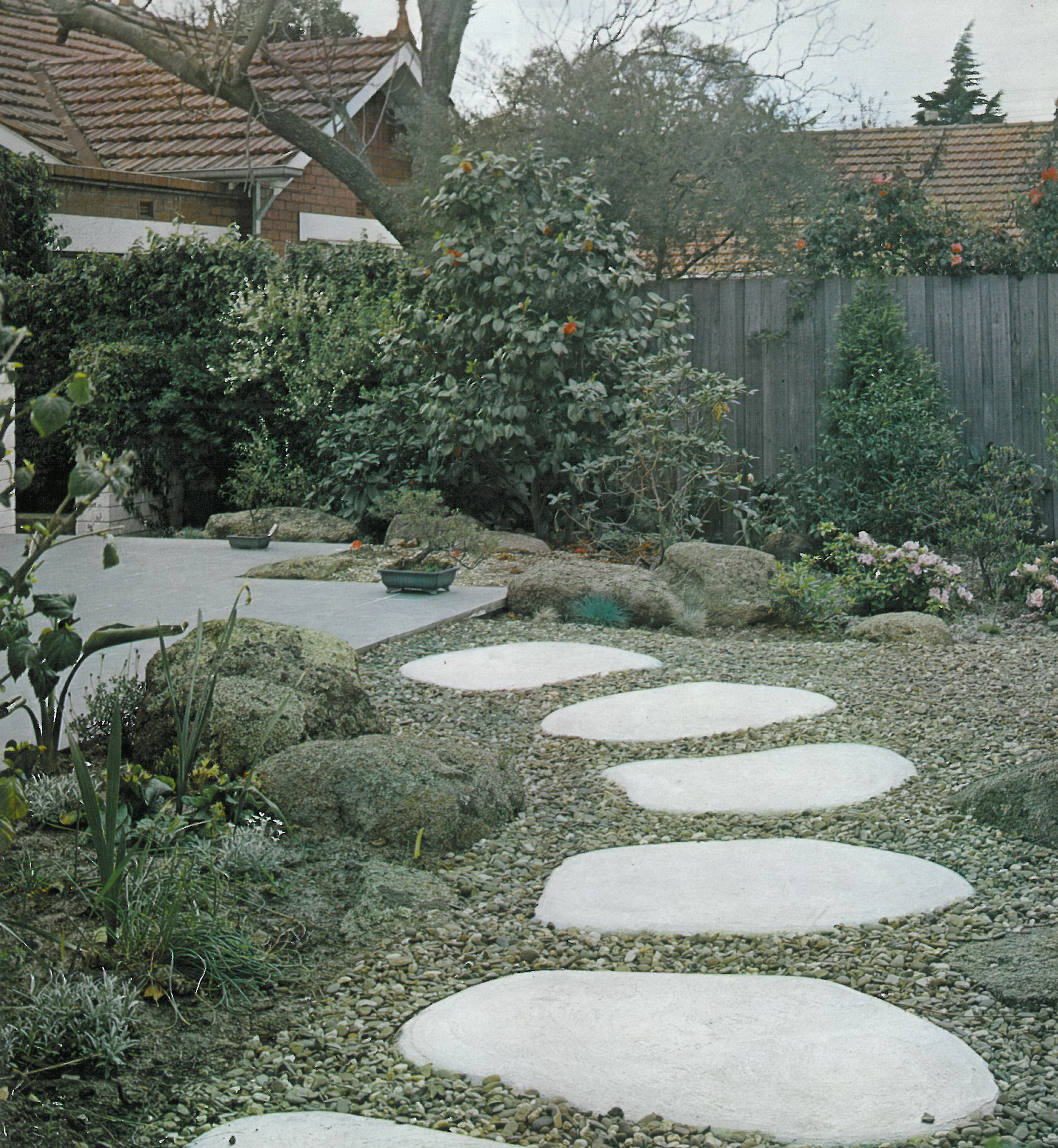 Cp7 for Courtyard stone and landscape