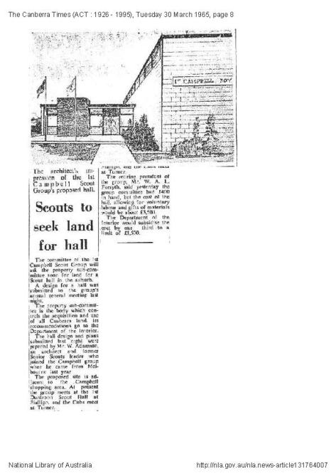 Canberra Times 30.3.1965