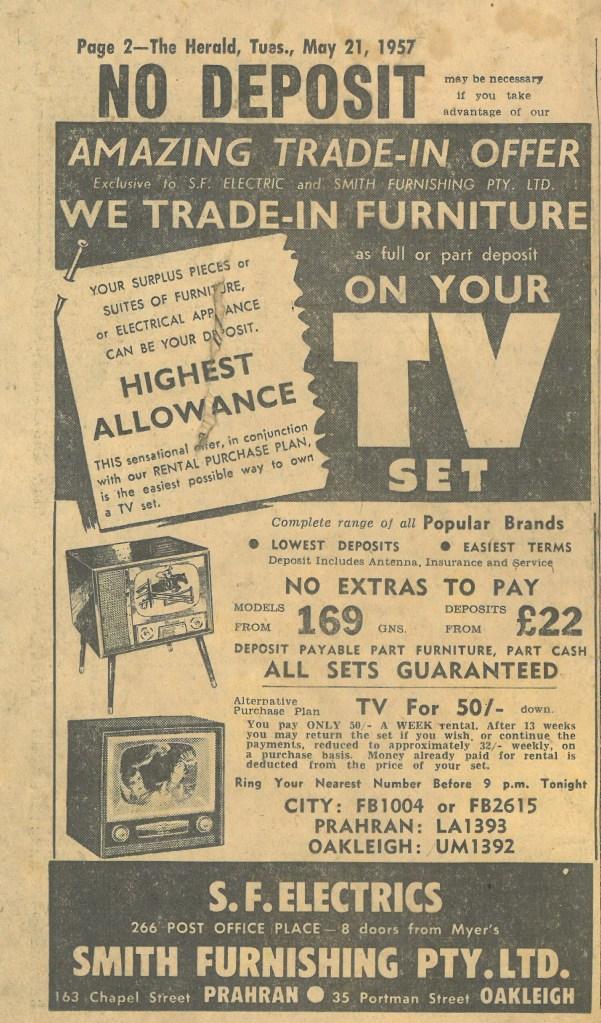 Herald ads