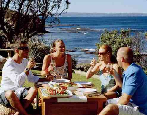 The quitessential Aussie outdoor meal!  (According to www.realaustraliatravel.com that is)