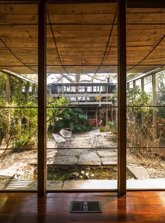 The Room Without A Ceiling Courtyards In Modernist